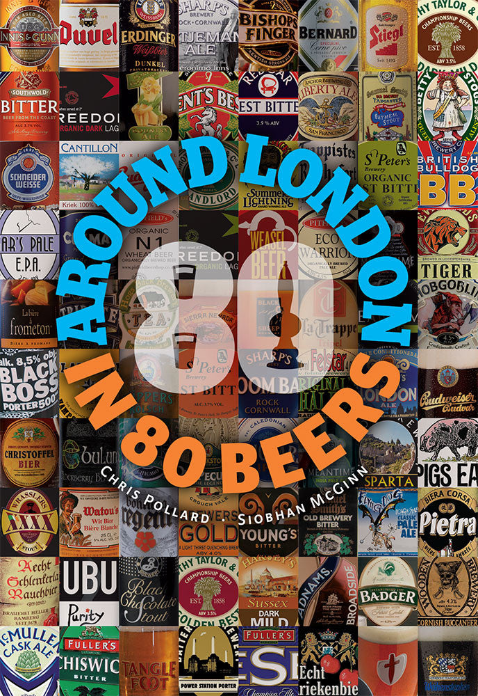 Around London in 80 Beers - front cover