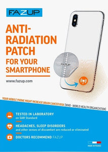 Anti-radiation Antenna Patch for Mobile Phone (Gold Pack)