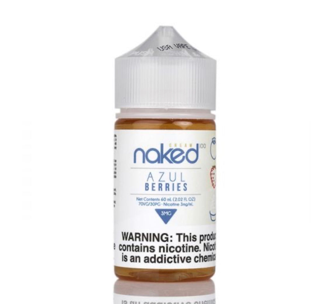 Naked100 Cream Azul Berries 60ml