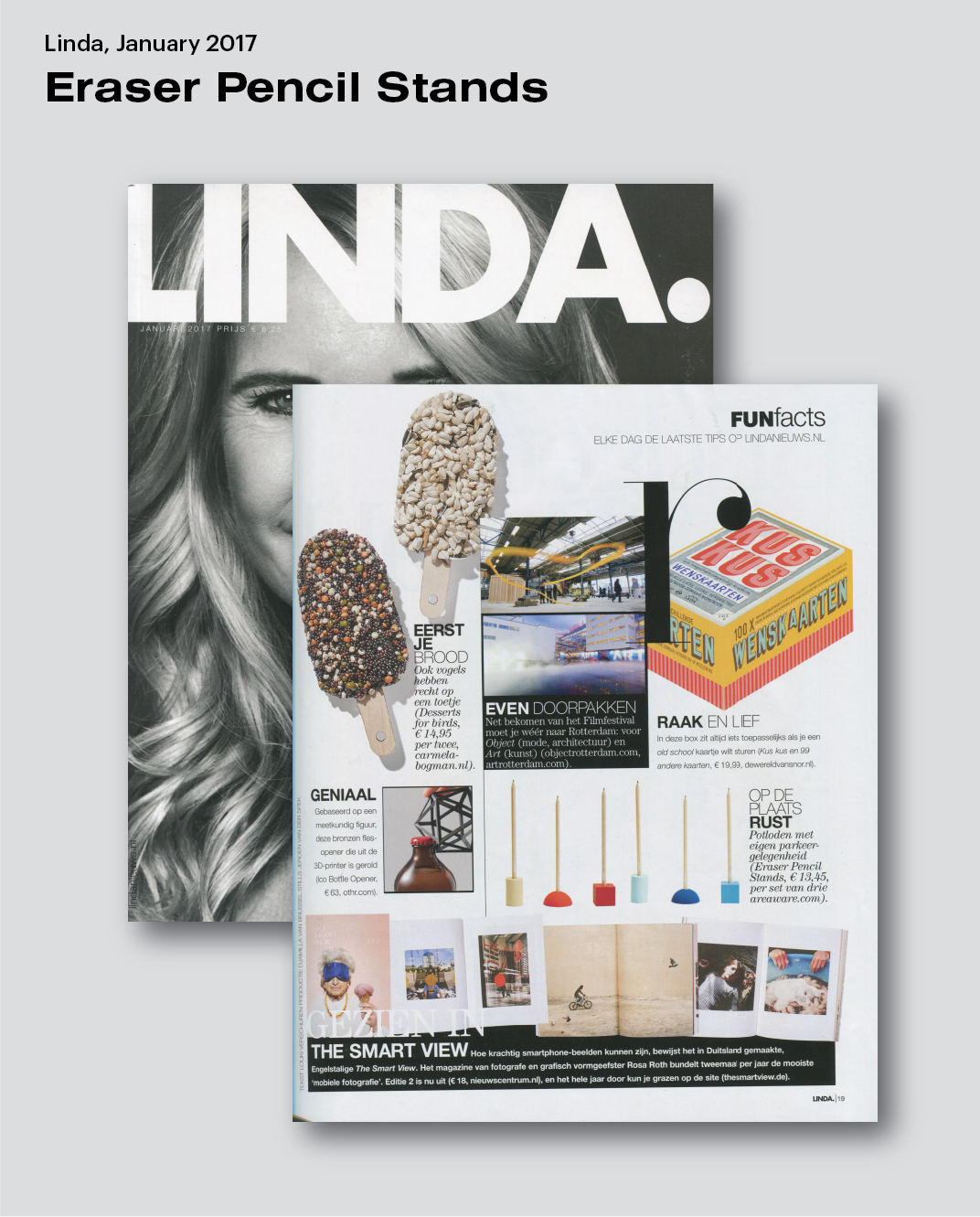Areaware | Eraser Pencil Stands featured in LINDA