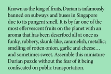little puzzle thing® - Durian