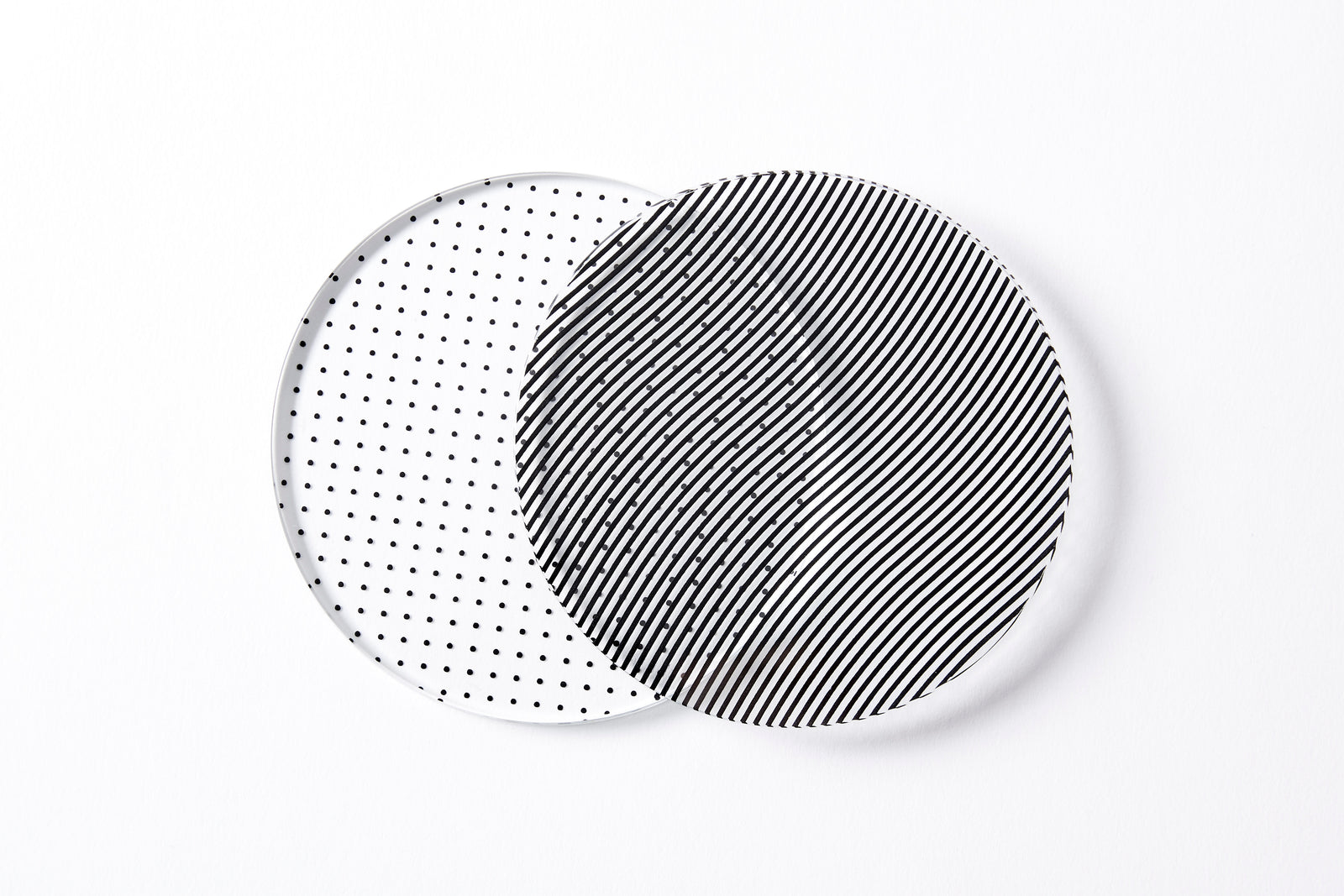 Glass Grid Coasters - Mixed