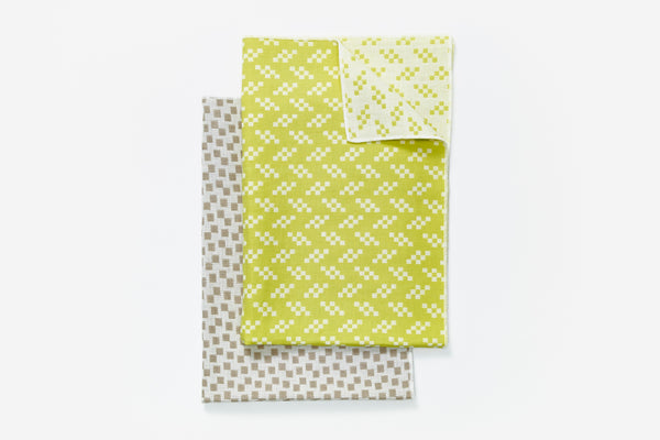 Bitmap Textiles - Tea Towels Color (Bits and Static)