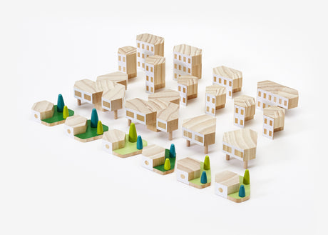 Blockitecture® Garden City Mega Set