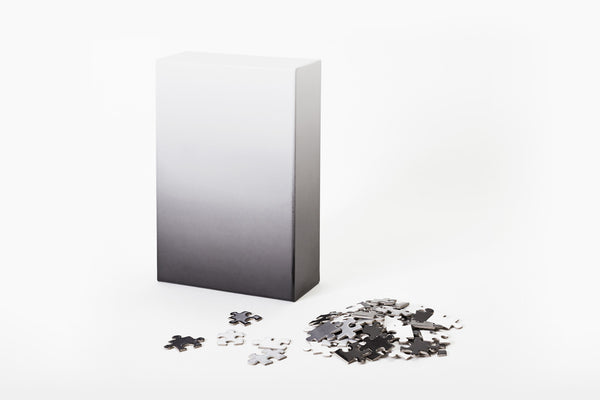 Gradient Puzzle - Black/White