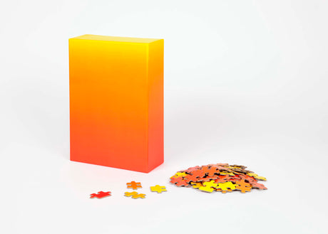 Gradient Puzzle | 500 piece - Red/Yellow