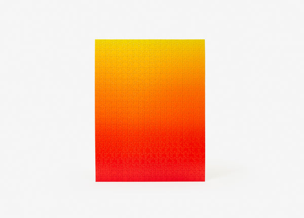 Gradient Puzzle - Red/Yellow