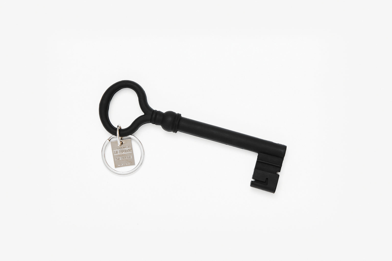 Reality Key Keychain - Black