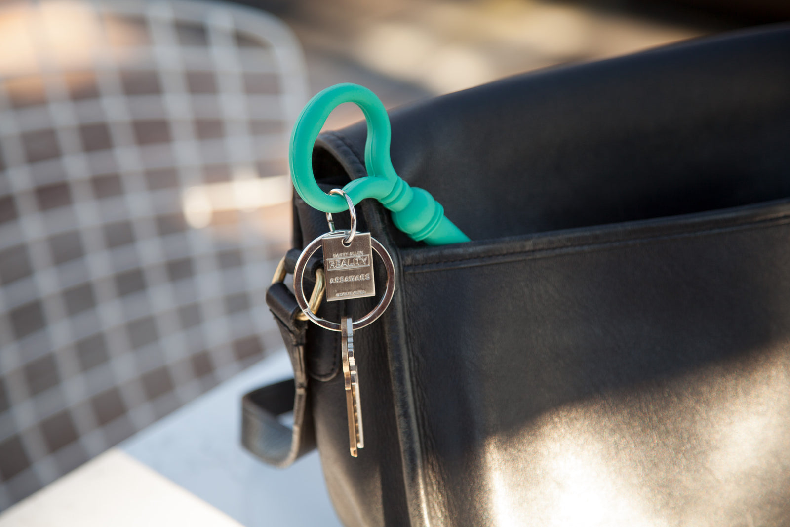 Reality Key Keychain - Teal