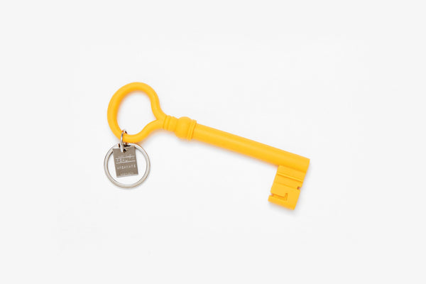 Reality Key Keychain - Mustard