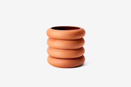 Stacking Planter Terracotta - Tall