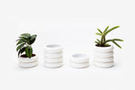 Stacking Planter Stoneware Bundle