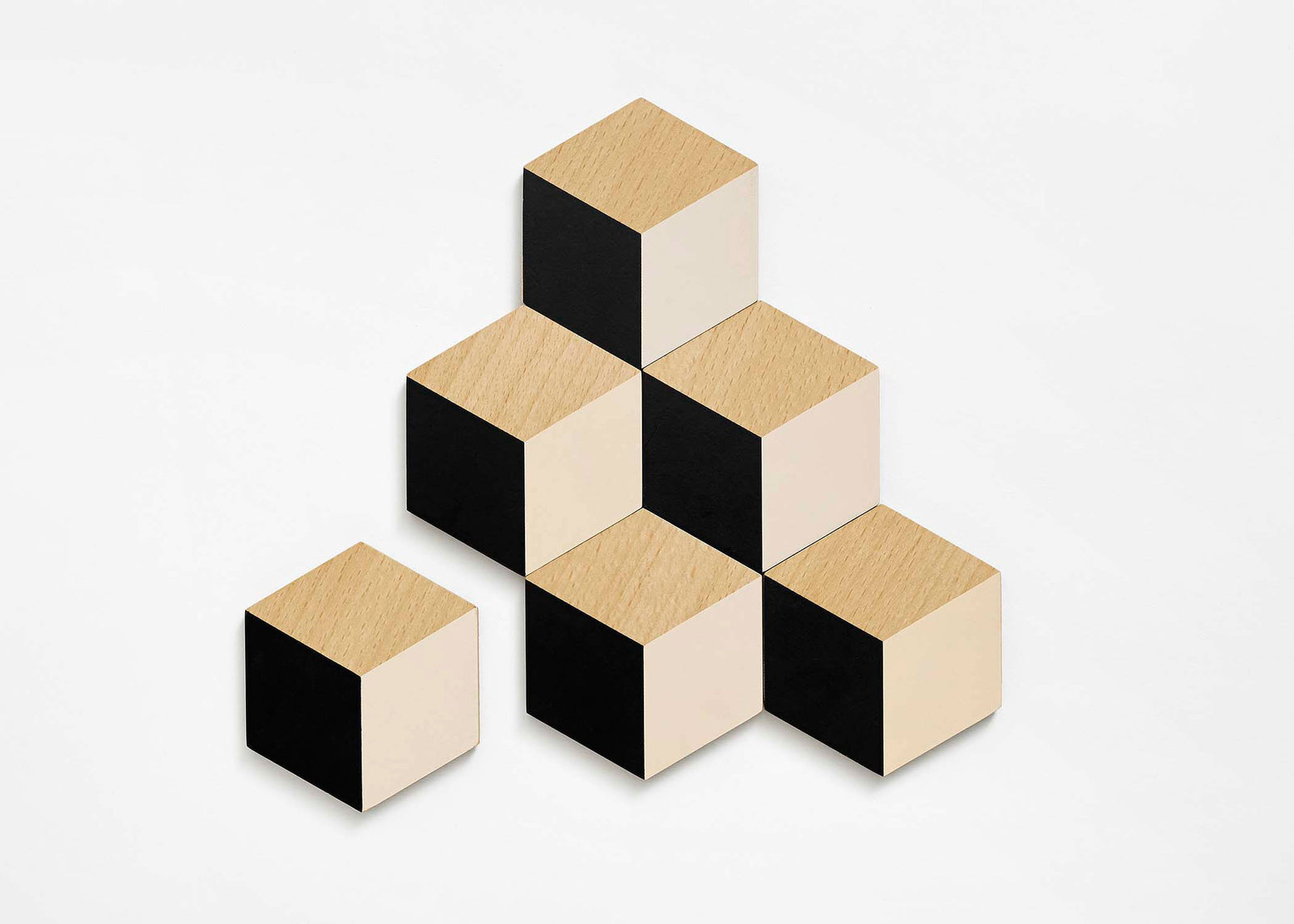 Table Tiles - Black/Beige
