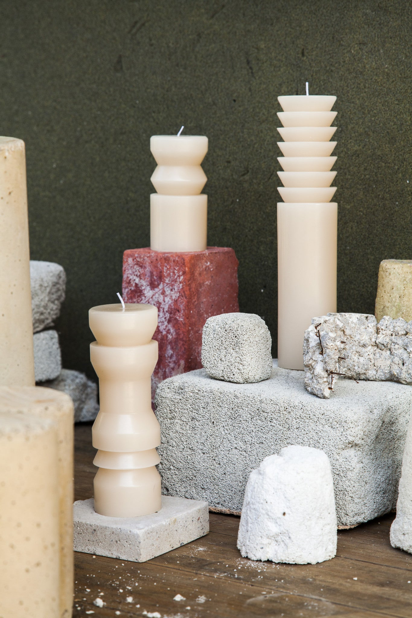 Totem Candles - Sand Bundle