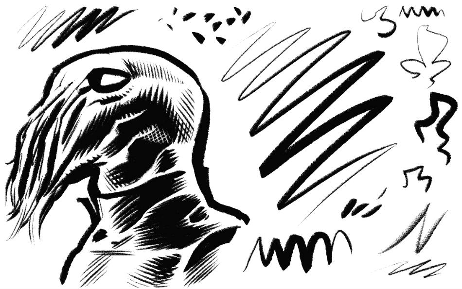 Clip Studio Inking Brushes | Frenden
