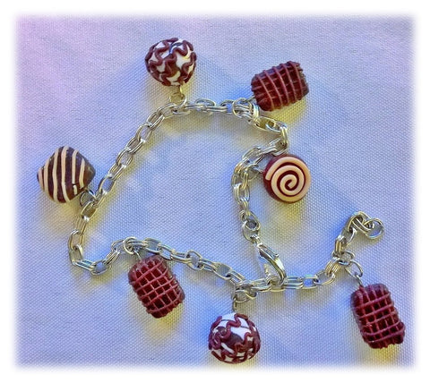 Chocolate Lovers Bracelet in Sterling Silver