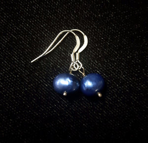 Pearl & Silver Earrings - Leila Haikonen Jewellery