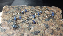 Sapphire Sterling Silver Chain Necklace - Leila Haikonen Jewellery - 8