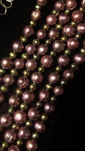 Purple Pearl Silver Necklace - Leila Haikonen Jewellery