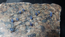 Sapphire Sterling Silver Chain Necklace - Leila Haikonen Jewellery - 7