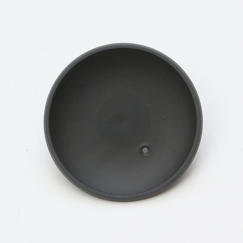 Round Kyusu/Tea Pot Side Hand (Matte Black)