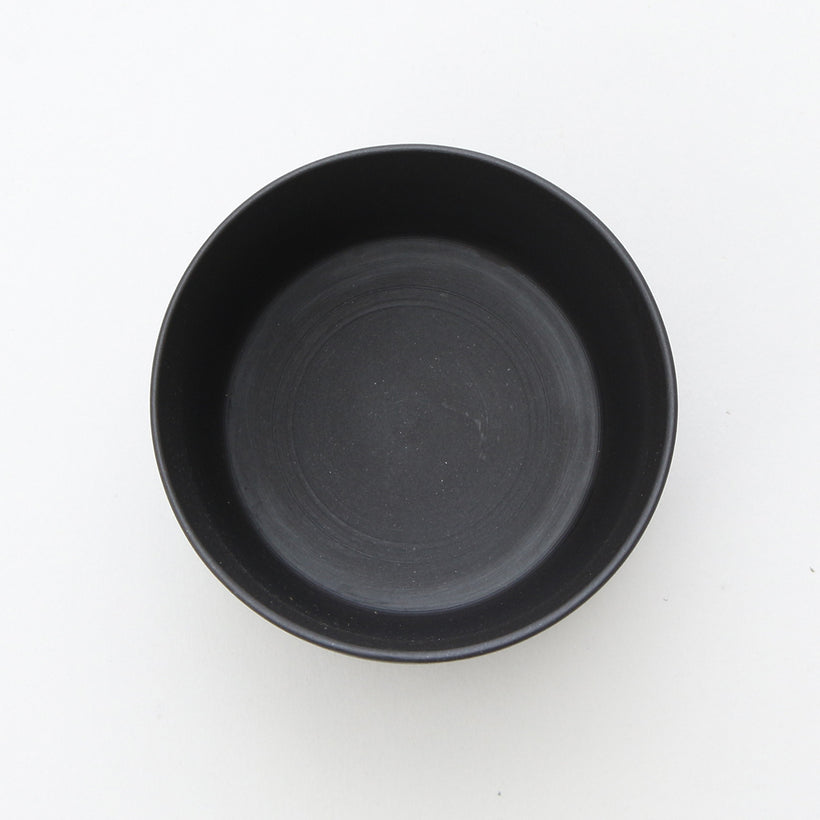 Column Yunomi/Tea Cup (Matte Black)