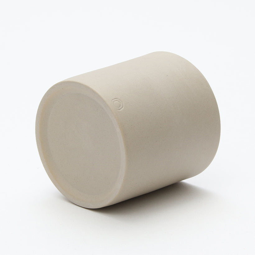 Column Yunomi/Tea Cup (Matte Cream White)