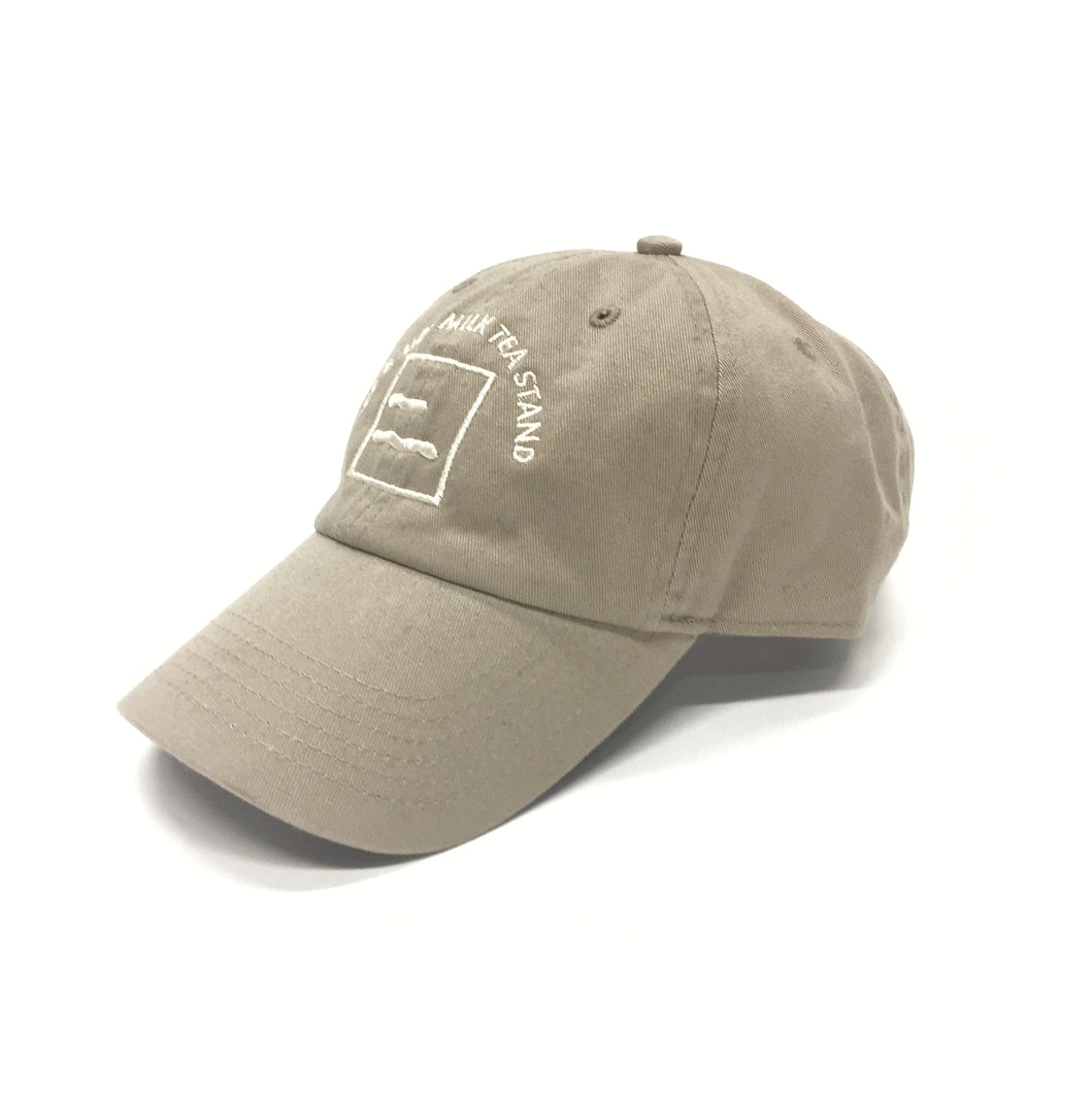 [受注生産] ICE & HOT MILK TEA STAND LOGO CAP