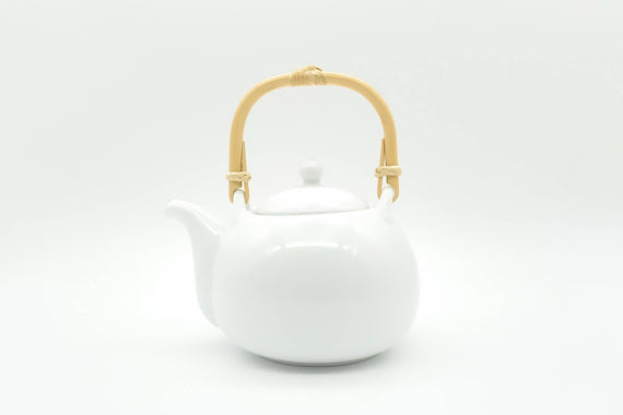Fukube - Dobin/Tea Pot (White Porcelain)