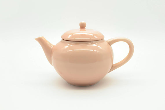 Cosaji - Kyusu/Tea Pot (Vermillion Porcelain)