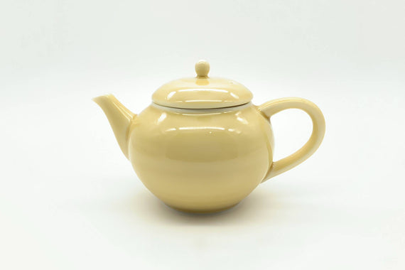 Cosaji - Kyusu/Tea Pot (Yellow Porcelain)