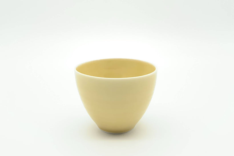 Cosaji - Yunomi/Tea Cup (Yellow Porcelain)
