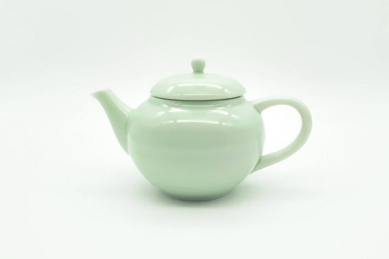 Cosaji - Kyusu/Tea Pot (Light Green Porcelain)
