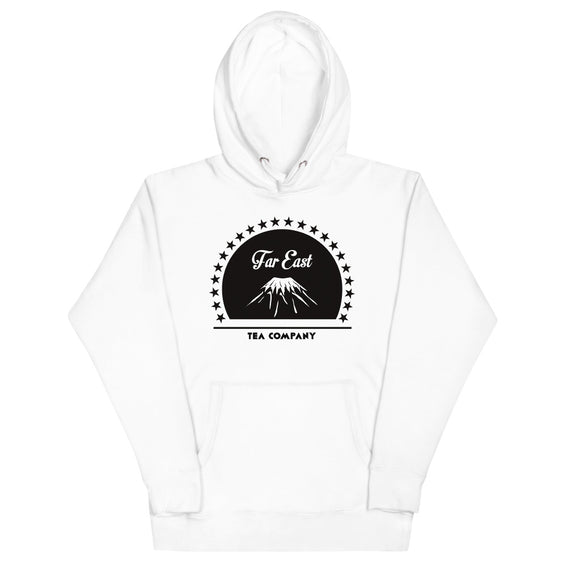 """FAR EAST FUJI"" HOODIE (WHITE) - FAR EAST TEA COMPANY"
