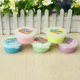 Slime Fruit Jelly Pudding Mud DIY Cotton Plasticine Kid Adult Stress Reliever Decompress Toy Gift