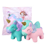 Unicorn Squishy Jumbo Animal Slow Rising Soft Toy Gift Collection With Packaging 12*10CM