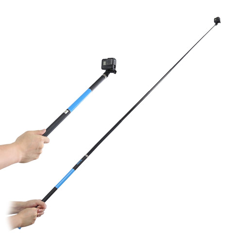 TELESIN 2.7m Long Selfie Stick Carbon Fiber Camera Handheld Extension Rod For GoPro/SJcam/Yi