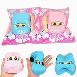 Areedy Squishy Car Cake Jumbo 13cm Licensed Slow Rising Original Packaging Collection Gift Soft Squeeze Toy