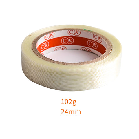 Transparent Fiber Strips Adhesive Tape For RC Models