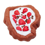 Chocolate Strawberry Cake Squishy 12*4CM Slow Rising With Packaging Collection Gift Soft Toy