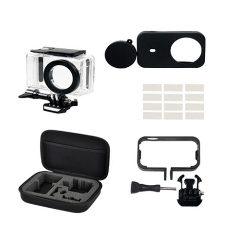 Xiaomi Mijia Mini Sports Camera Protective Set w/ Silicone Cover/Waterproof Shell/Lens Cover