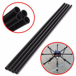 3K Roll Wrapped 10mm Carbon Fiber Tube 8mm x 10mm x 500mm for RC Models