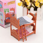 1:12 Simulation Fluctuation Bed Play House Props Dollhouse Creative DIY Material
