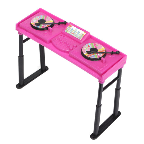 Miniature Music DJ Console Toy For Dollhouse Decoration