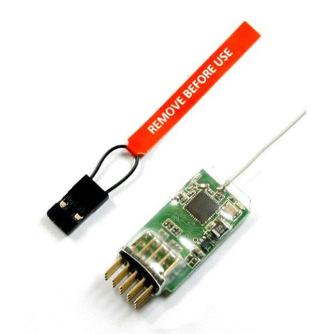 REDCON CM421 2.4G 4CH Full-Range DSM2 Compatible Receiver