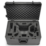 Realacc Aluminum Trolley Case Pull Rod Hand Traveling Box Case for DJI Phantom 4/ DJI Phantom 4 Pro