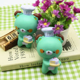 Squishy Bear Baker Chef Jumbo 14cm Slow Rising Collection Gift Decor Soft Squeeze Toy