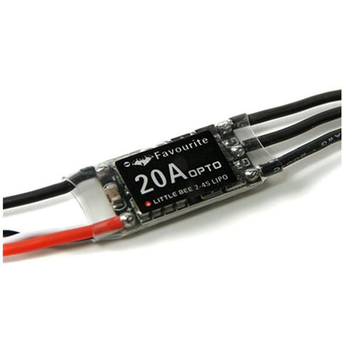 FVT LittleBee 20A ESC BLHeli OPTO 2-4S Supports OneShot125 For RC Drone FPV Racing Multi Rotor