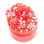 100ML Christmas Cloud Slime Squishy Scented Stress Clay Kids Toy Sludge Cotton Mud Plasticine Gifts