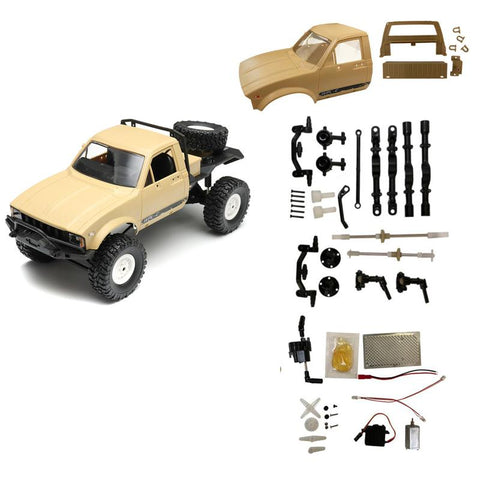 WPL C14 2.4G 1/16 Four Drive Climber RC Car KIT With Servo Motor